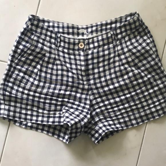 Tommy Bahama Pants - Women's Gingham Linen shorts